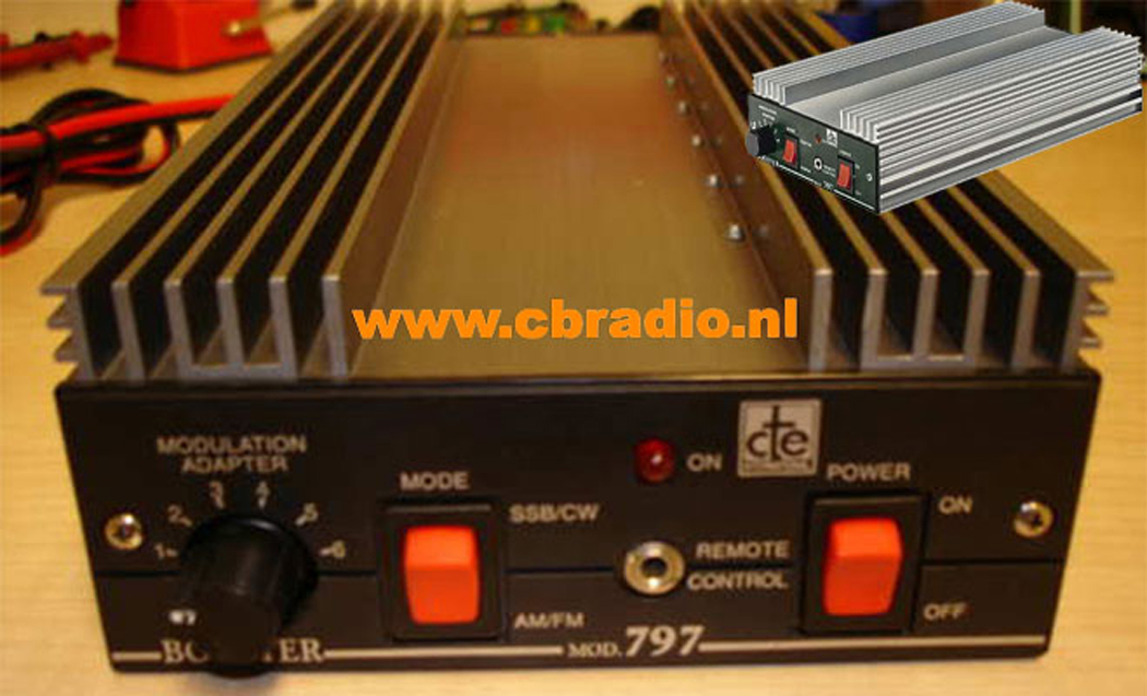 cbradio nl  pictures and specifications cte 797 linear