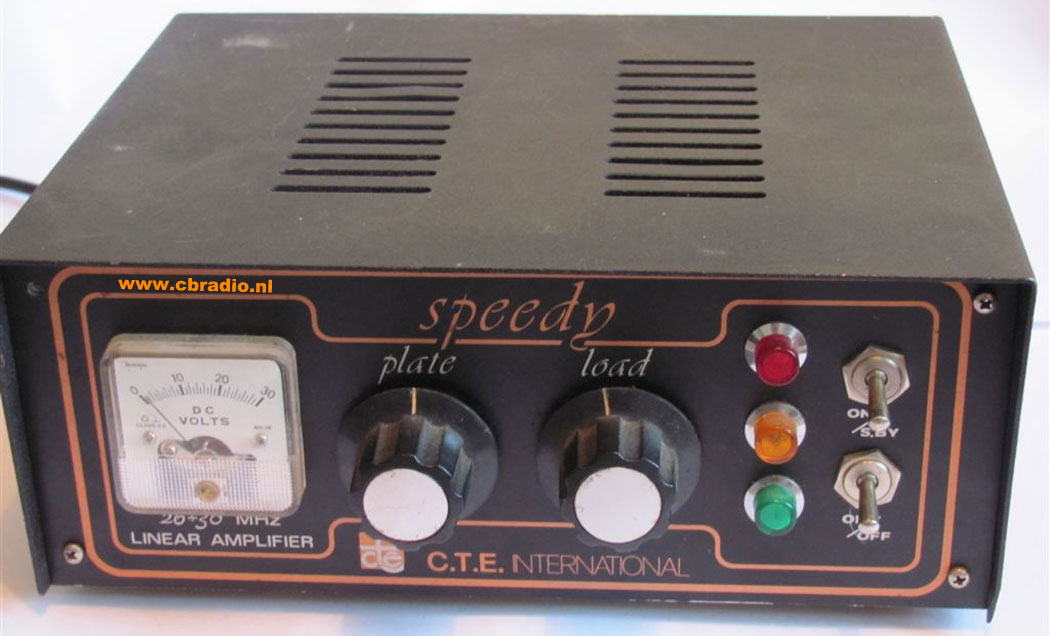 Speedy on tube amp radio