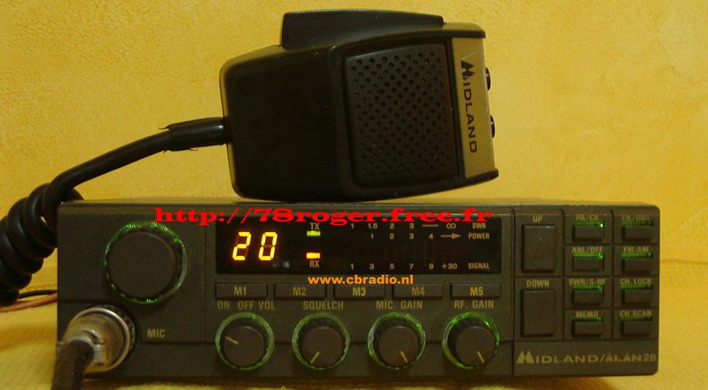 Радіостанція midland alan 28