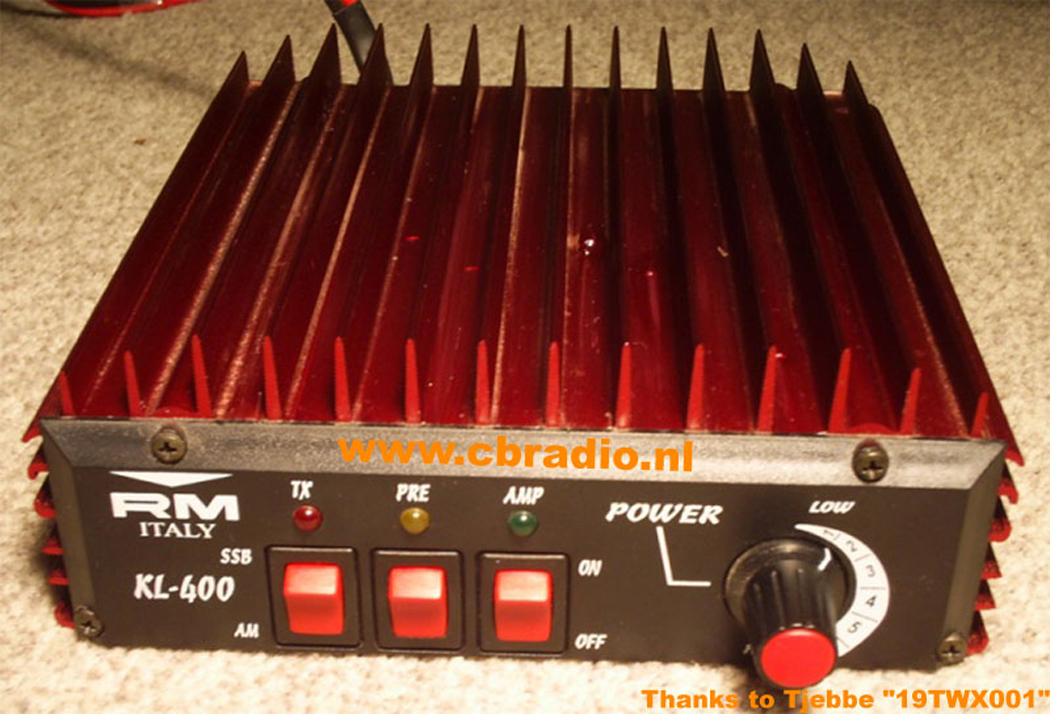 Photos: Www.cbradio.nl: Pictures, Manual And Specifications RM